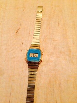 Casio Uhr Gold/Türkis