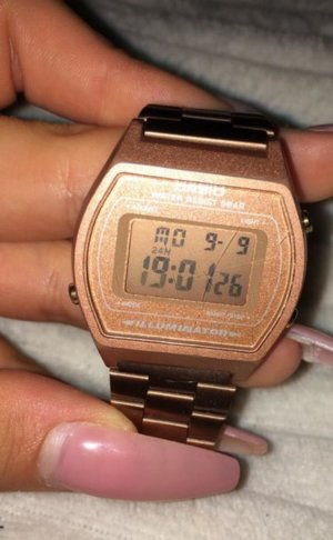 Casio Digital Watch bronze-colored