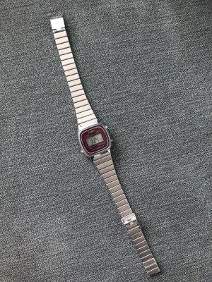 Casio Uhr Lila Silber