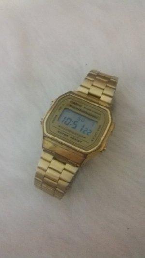 Casio Digital Watch black-gold-colored