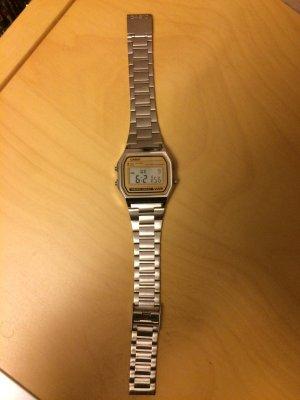 Casio Uhr Silber neu