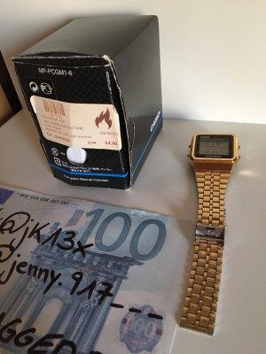 Casio Watch Uhr Gold - 1EF a500wega