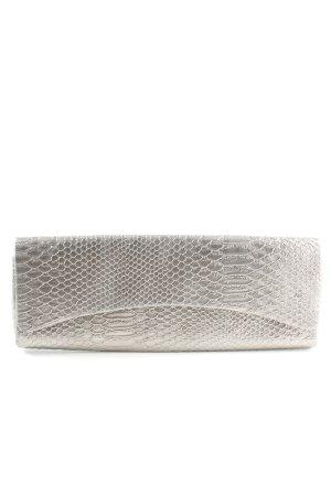 Caspar Pochette gris clair imprimé allover style décontracté