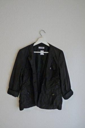 Cassani Jacke Regenjacke S M 38 *NEU* schwarz Blogger Fashion herbstlich cool