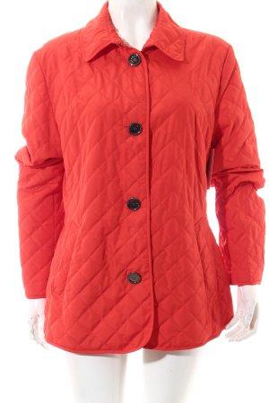 Cassani Veste matelassée rouge motif de courtepointe