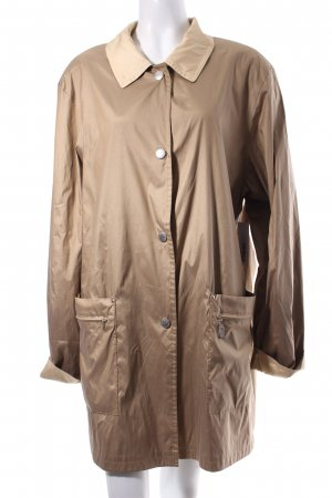 Cassani Reversible Jacket camel-cream wet-look