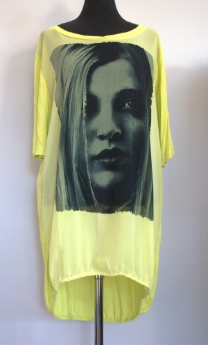 CASSIOPEIA Longshirt Gelb/Schwarz Größe S