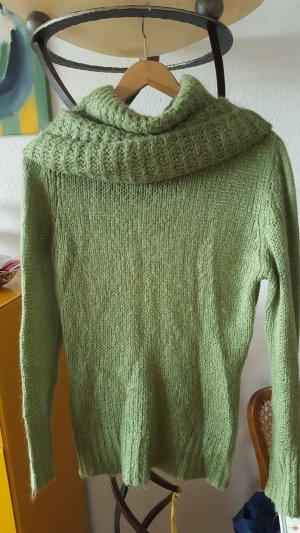 Cassis Coll. Pullover Rollkragen grün mint T1 Gr36