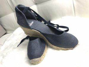Castañer Clog Sandals steel blue