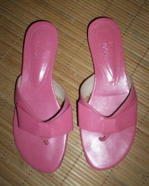 CASTANER Pantoletten (36), rosa (Zehentrenner)