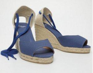 Castañer Espadrillas blu acciaio-blu