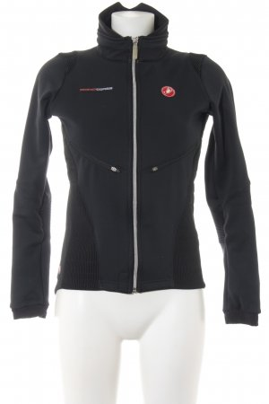 Castelli Softshell Jacket black-red casual look