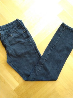 Castro Designer Jeans black washed made in Turkey slim fit