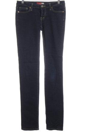 Castro Slim Jeans dunkelblau Jeans-Optik