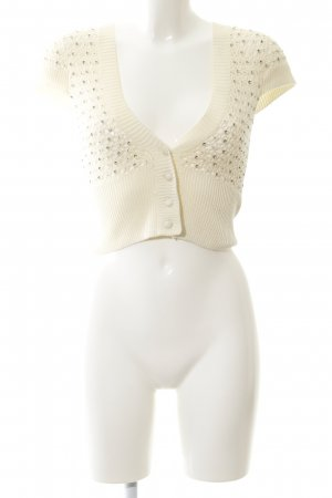Castro Knitted Vest cream elegant