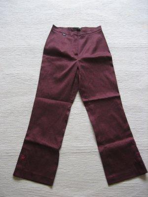 castrop capri hose nett satin matt gr. xs 34 burgund