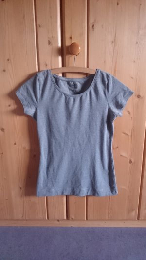 Casual Basic Shirt grau 34 36 XS S