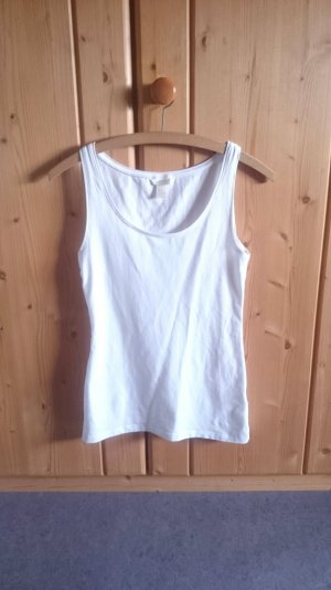 Casual Basic Tank Top weiß 34 36 XS S