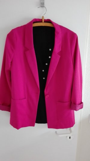 Casual Blazer pink Oversize H&M
