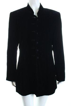 Casual Corner Long-Blazer schwarz extravaganter Stil