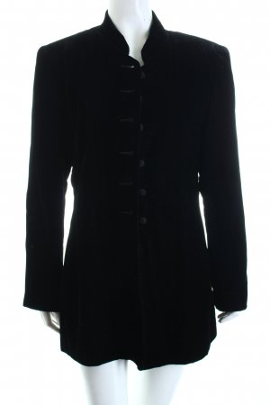 Casual Corner Blazer largo negro estilo extravagante