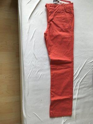 Marc O'Polo Chino rojo claro Algodón
