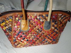 casual Rinds Leder Handtasche