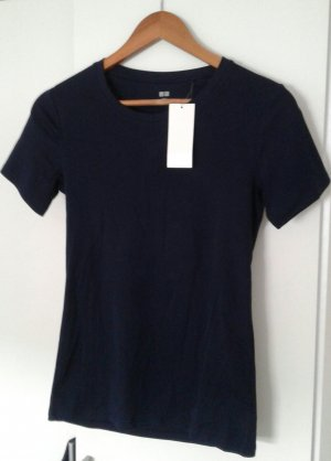 Casual Top shirt Damen, Tailliert, Navy Blue