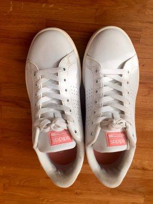 Adidas Sneakers met veters wit-lichtrood