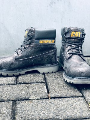 CAT / Caterpillar Boots Damen Silber