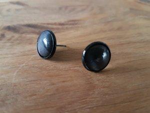 Ear stud black-anthracite
