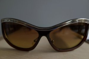 Retro Glasses brown-sand brown synthetic material