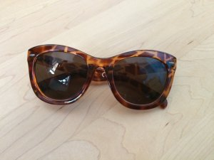 Cat Eye Sonnenbrille mit Tigermuster