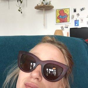 Cat Eye Sonnenbrille schwarz Retrosonnenbrille Kauf dich Glücklich