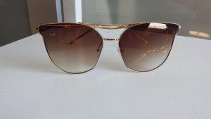 Sunglasses gold-colored