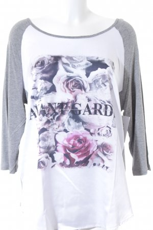 CAT Camiseta estampada estampado floral look casual