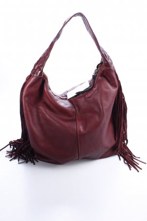 Caterina Lucchi Hobo bordeauxrot Hippie-Look