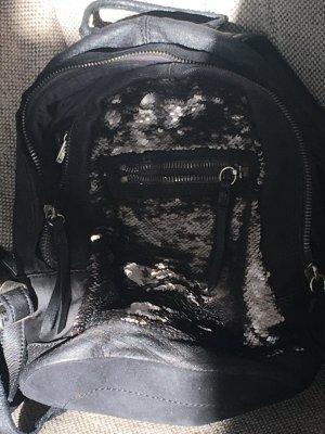 Accessorio nero Pelle
