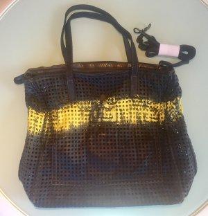 Caterina Lucchi Shopper black-yellow