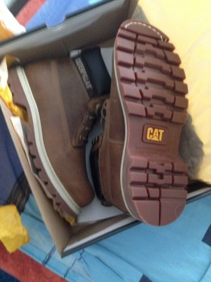 Caterpillar Boots neu und ungetragen