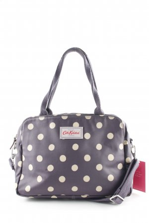 Cath Kidston Carry Bag grey violet-oatmeal spot pattern extravagant style