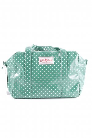 Cath Kidston Carry Bag green-white spot pattern casual look