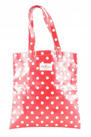 Cath Kidston Tote rot Punktemuster Retro-Look