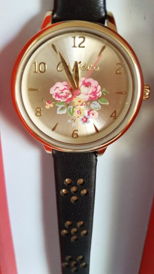 Cath Kidston Watch With Leather Strap multicolored