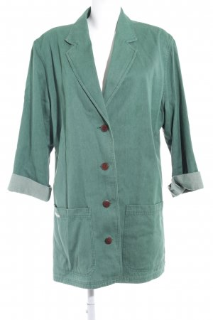 Catherina Hepfer Denim Blazer grass green vintage look