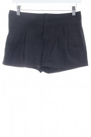 Catherine Malandrino Short taille haute noir style simple