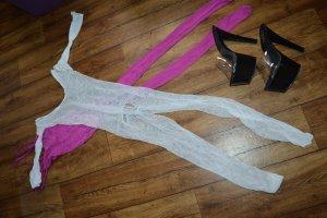 Conjunto de lencería blanco