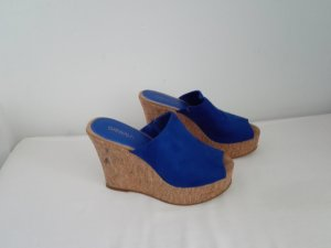 Catwalk High-Heeled Sandals blue