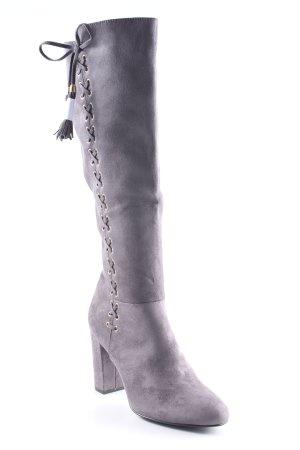 Catwalk Laarzen met hak grijs-goud elegant