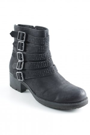Catwalk Ankle Boots schwarz Street-Fashion-Look
